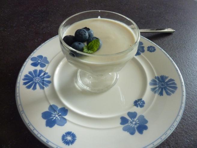 yoghurt panna cotta 1