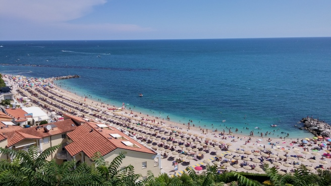 Numana - view of La Spiaggiola